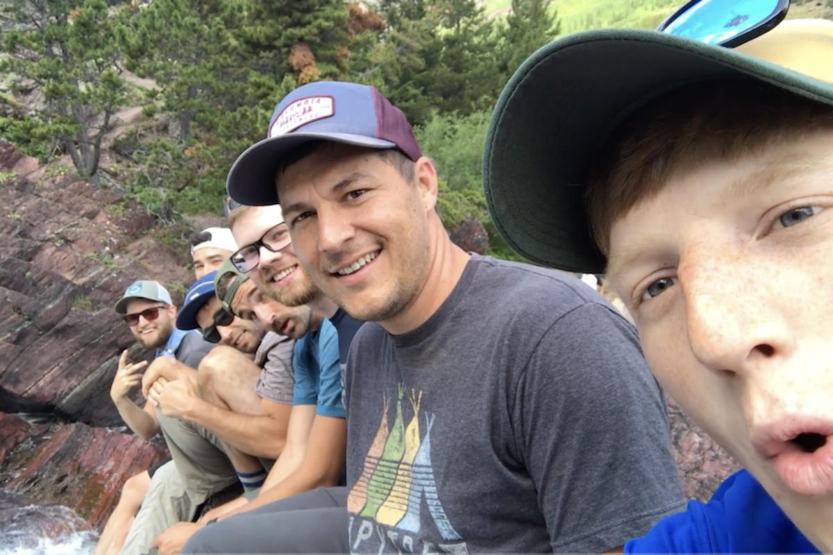 Glacier national park hiking trip